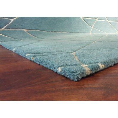 Tenorio Hand-Tufted Blue Area Rug Rug Size: 9 x 13