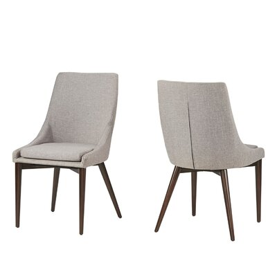 Cleland Parsons Chair Upholstery: Gray