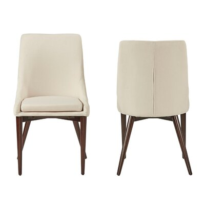 Cleland Parsons Chair Upholstery: Bone White