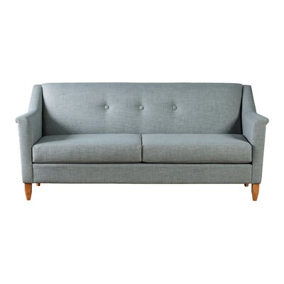 North Point Tufted Sofa Upholstery: Blue Ash
