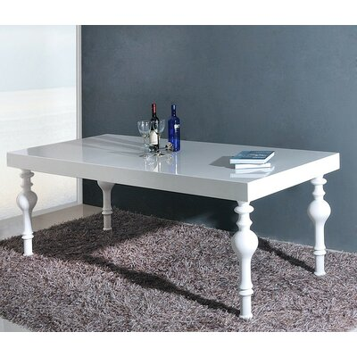 Lipscomb Dining Table Table Finish: White