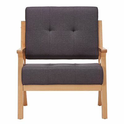 Lobato Armchair Upholstery: Dark Gray