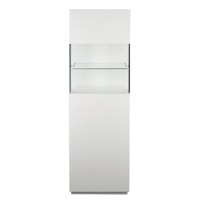 Simmons Display Cabinet Color: White