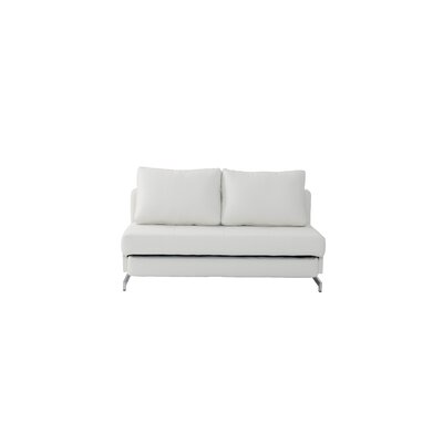 Demelo Sleeper Sofa Upholstery: White