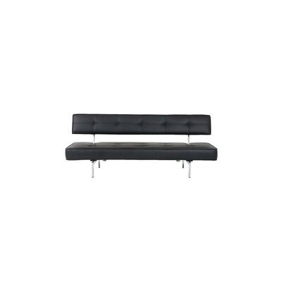 Demelo Sleeper Sofa Upholstery: Black