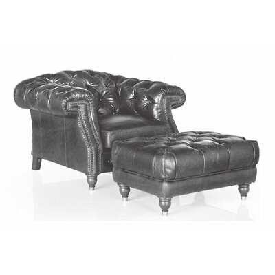 Erandi Top Grain Classical Armchair