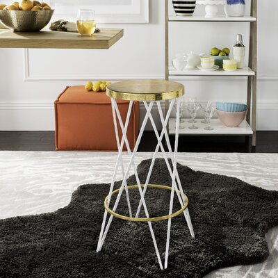 Amidon 30 Bar Stool Finish: White
