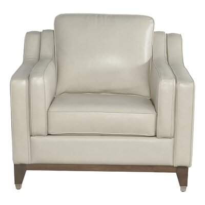 Jacob Top Grain Leather Armchair