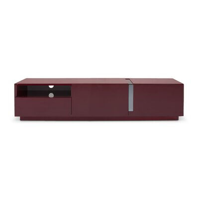 Weatherholt 71 TV Stand Color: Dark Red