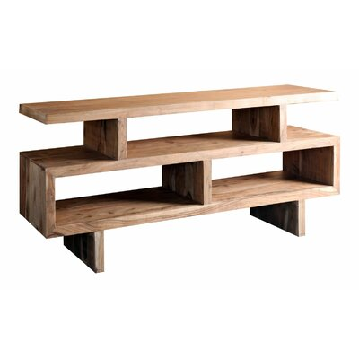 Fulbright Wooden 71 TV Stand Wood Finish: Brown