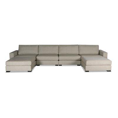 Brose U-Shape Modular Sectional Upholstery: Sand