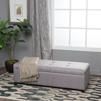 Lachesis Storage Ottoman Color: Grey