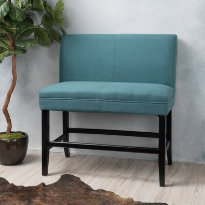 Cosima 28 Fabric Bar Stool Upholstery: Dark Teal