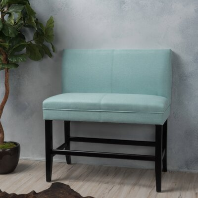 Cosima 28 Fabric Bar Stool Upholstery: Light Blue