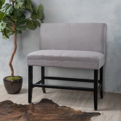 Cosima 28 Fabric Bar Stool Upholstery: Light Gray