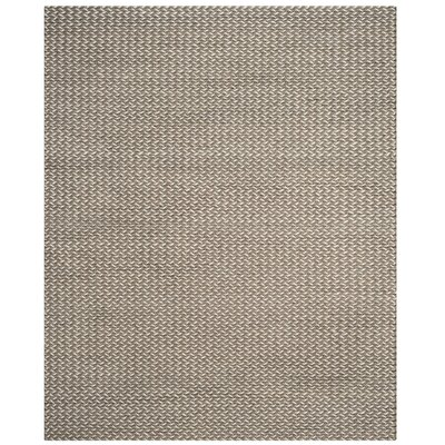 Sinope Hand-Tufted Camel/Gray Area Rug Rug Size: Rectangle 8 x 10