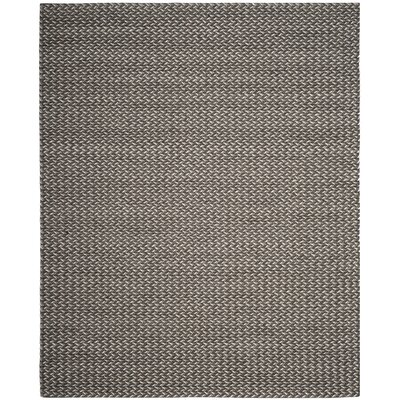 Sinope Hand-Tufted Gray Area Rug Rug Size: Rectangle 8 x 10