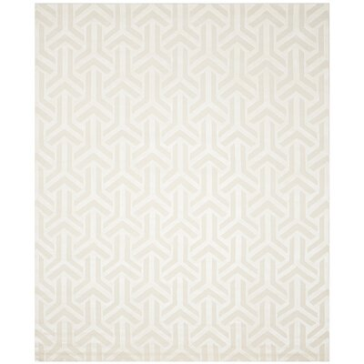Suruga Hand-Knotted Ivory Area Rug Rug Size: Rectangle 8 x 10