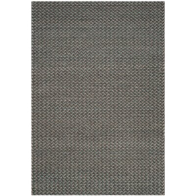 Sinope Hand-Tufted Turquoise/Gray Area Rug Rug Size: Rectangle 8 x 10