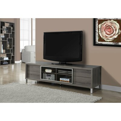 Encinas 71 TV Stand Color: Taupe