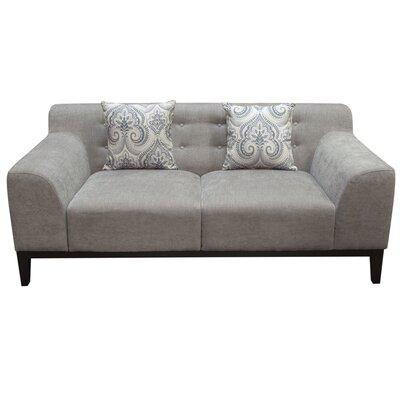 Standifer Tufted Back Standard Arm Sofa