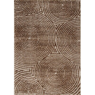 Gilkes Brown Area Rug Rug Size: 53 x 77
