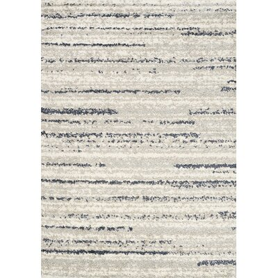 Bugbee Navy Area Rug Rug Size: Rectangle 53 x 77