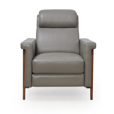 Whelchel Power Italian Leather Recliner