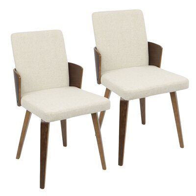 Katarina Side Chair Upholstery: Cream