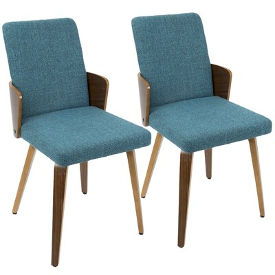 Katarina Side Chair Upholstery: Teal