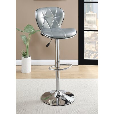 Yearwood Adjustable Height Swivel Bar Stool