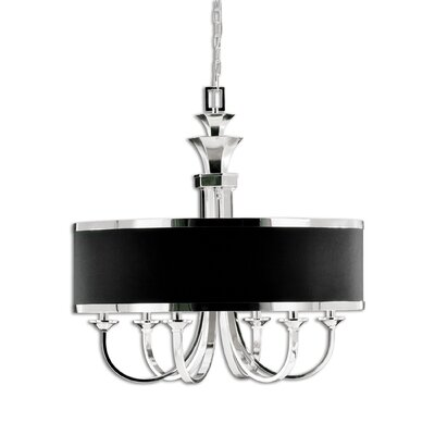Huenna 6-Light Drum Chandelier
