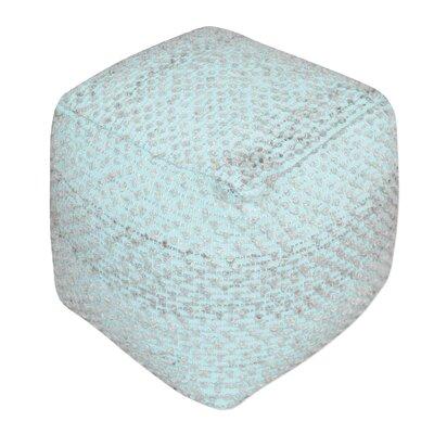 Newhouse Pouf Upholstery: Aqua