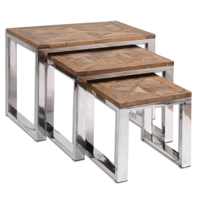 Penson 3 Piece Nesting Table Set