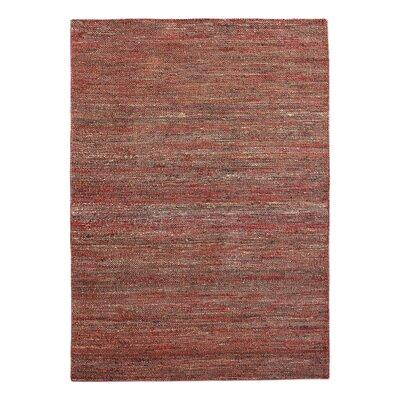 Newburn Hand-Woven Rust Area Rug Rug Size: 8 x 10