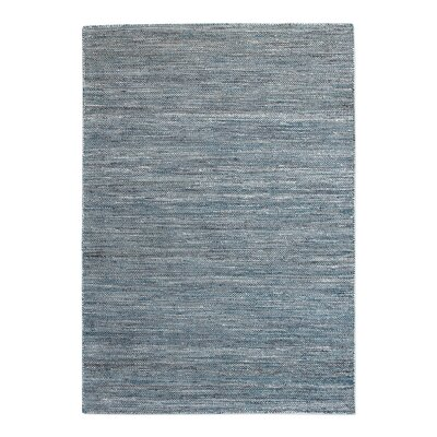 Newburn Hand-Woven Cement Area Rug Rug Size: 5 x 8