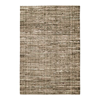 Neilson Hand-Woven Khaki Area Rug Rug Size: 5 x 8