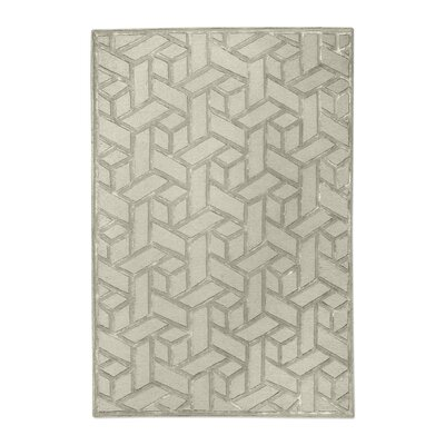 Netherton Hand-Tufted Wool Sand Area Rug Rug Size: 9 x 12