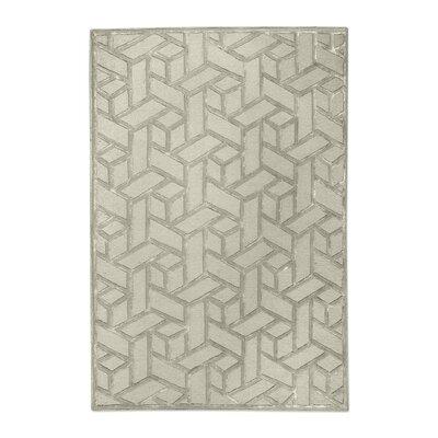 Netherton Hand-Tufted Wool Sand Area Rug Rug Size: 8 x 10