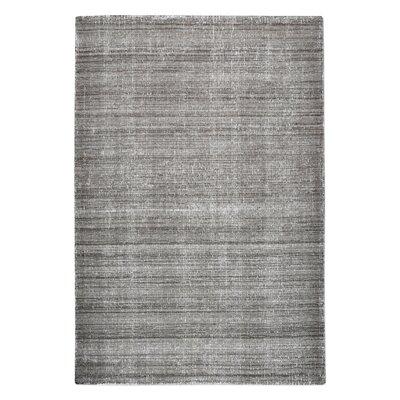 Neese Hand-Woven Wool Charcoal Area Rug Rug Size: 5 x 8