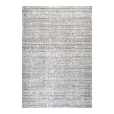 Neese Hand-Woven Wool Gray Area Rug Rug Size: 9 x 12