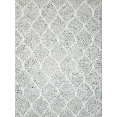 North Moore Hand-Tufted Mint Area Rug Rug Size: Rectangle 5' x 7'