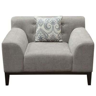 Standifer Arm Chair Upholstery: Light Gray