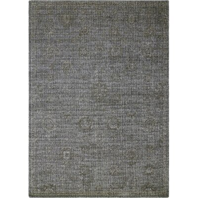 Diona Graphite Area Rug Rug Size: Rectangle 53 x 75
