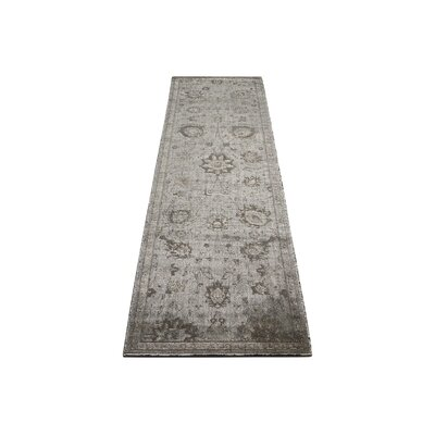Diona Graphite Area Rug Rug Size: Runner 23 x 8