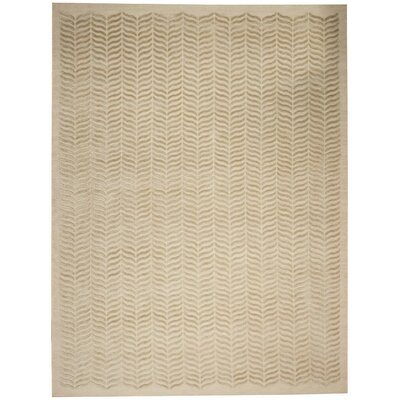 Rensselear Tan Area Rug Rug Size: Rectangle 56 x 76