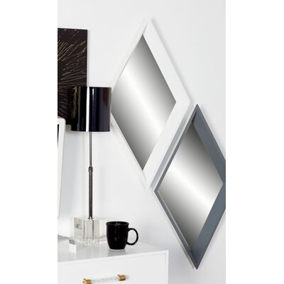 Scurry 3 Piece Modern Geometric Mirror Set