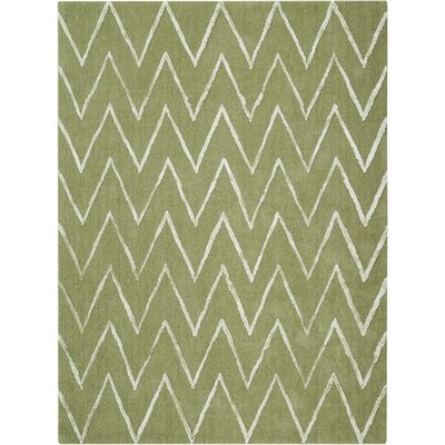 Courville Hand-Tufted Kiwi Area Rug Rug Size: Rectangle 5 x 7