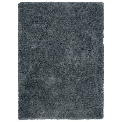 Vandiver Hand-Tufted Dark Grey Area Rug Rug Size: Rectangle 5 x 7