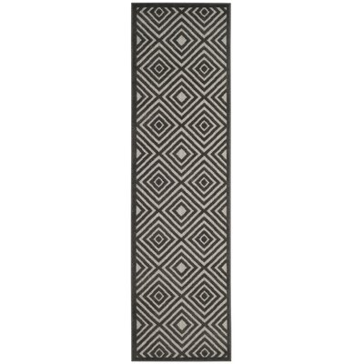 Woodford Gray Area Rug Rug Size: Runner 23 x 8